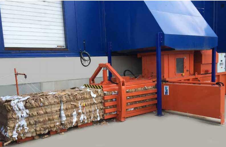 Cardboard Compactor